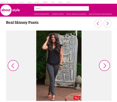 About.com chooses Kelly Skinny as a Top Pick for Post Baby Spring Style!