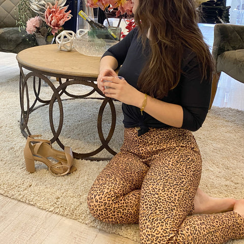 sarah leopard print pant beija flor jeans valentines day styling ideas charleston sc