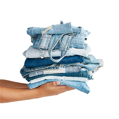 denim stack challenge denim recycling campaign greenville sc donation location