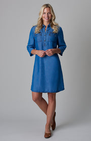 Hope Dress Vintage Blue