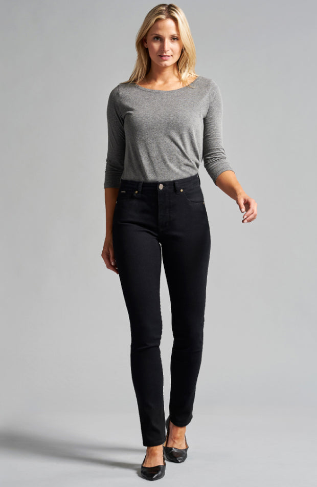 Jennifer High-Rise Skinny Jet Black