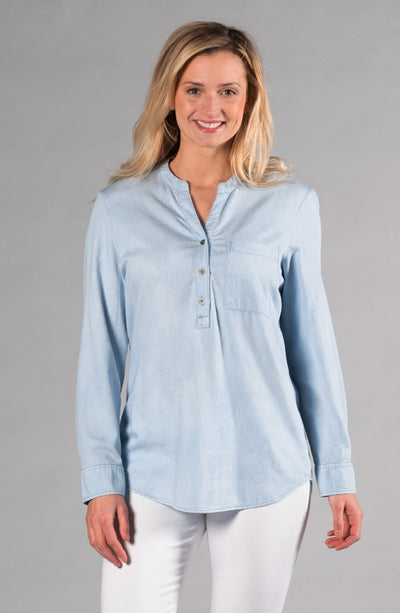 Terry Tunic Chambray
