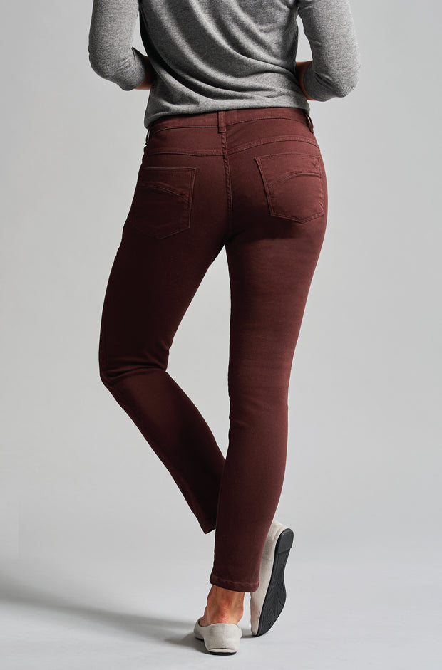 Beija-Flor Jeans Audrey Mulberry