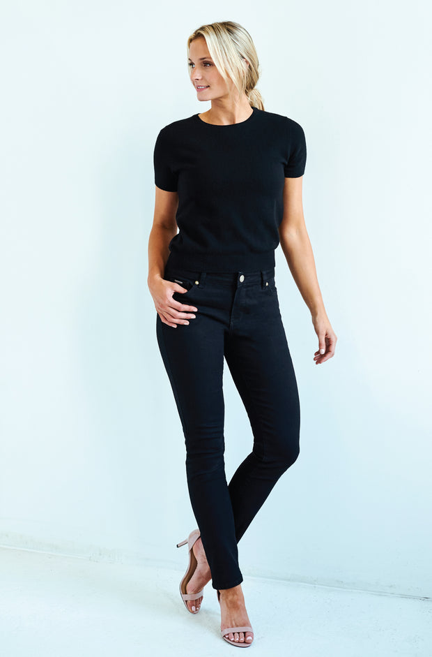 Jennifer Skinny Granite Black