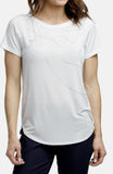 Beija-Flor Jeans Hummingbird Graphic T-Shirt White