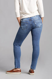 Beija-Flor Jeans Audrey Ankle Distressed Blue