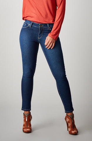 Beija-Flor Jeans Audrey Ankle Navy with Emana®