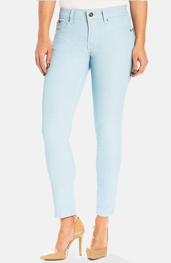 Beija-Flor Jeans Audrey Ankle Ice Blue