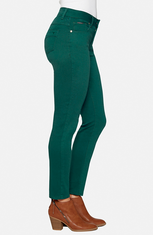 Beija-Flor Jeans Audrey Ankle Cypress Green