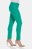 Beija-Flor Jeans Audrey Ankle Teal Repreve®