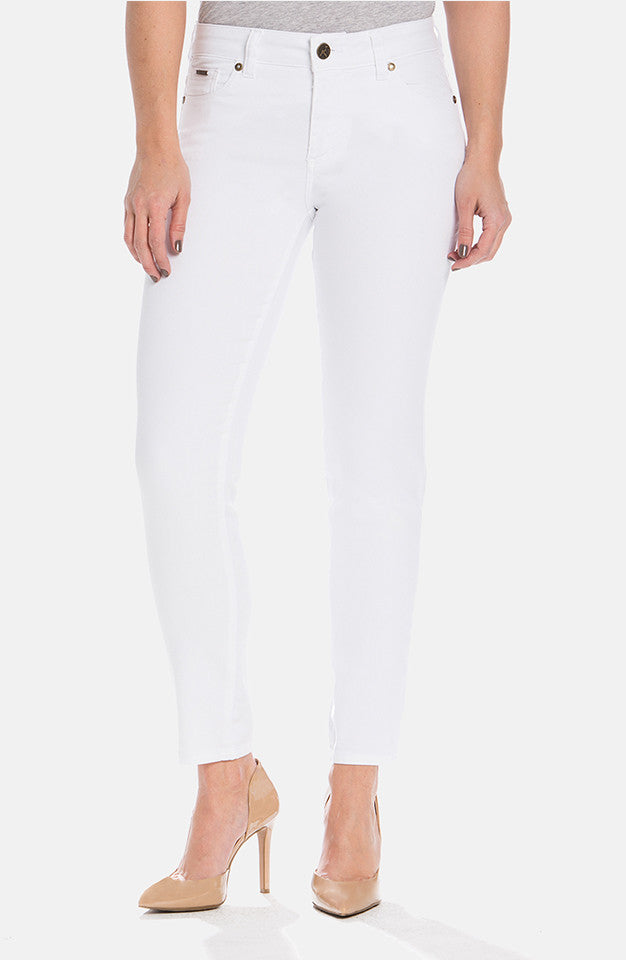 Beija-Flor Jeans Audrey Ankle Soft White