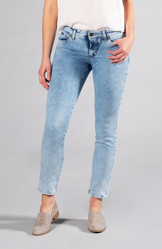 Beija-Flor Jeans Audrey Ankle Stone Wash