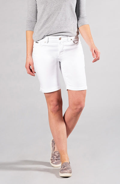 Audrey Bermuda Shorts Pure White