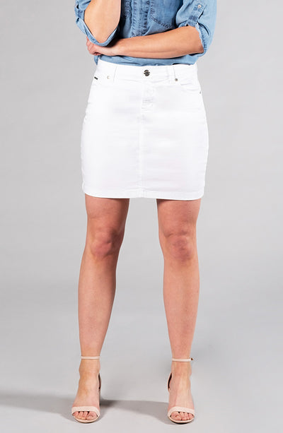 Audrey Skirt Pure White
