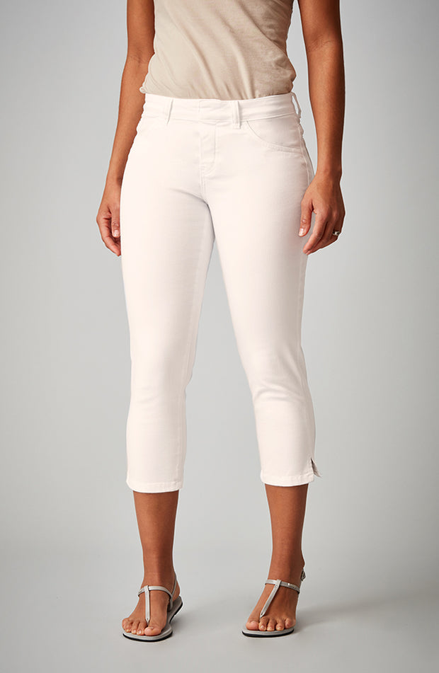 Beija-Flor Jeans Kelly Cropped Sand Dollar
