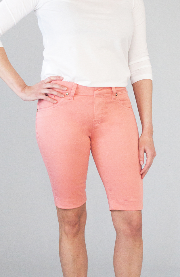 Beija-Flor Jeans Kelly Bermuda Shorts Coral Gables