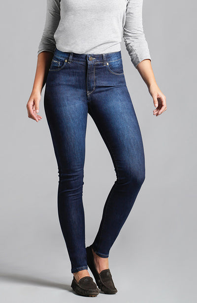 Jennifer High-Rise Skinny Vintage Blue