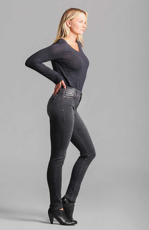 Jennifer High-Rise Skinny Smokey Grey