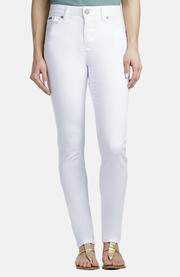 Beija-Flor Jeans Jennifer High-Rise Skinny Bright White