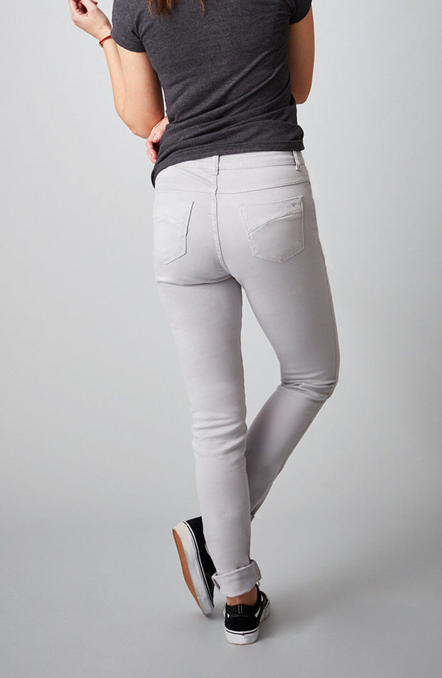 Beija-Flor Jeans Jennifer High-Rise Skinny Charleston Grey