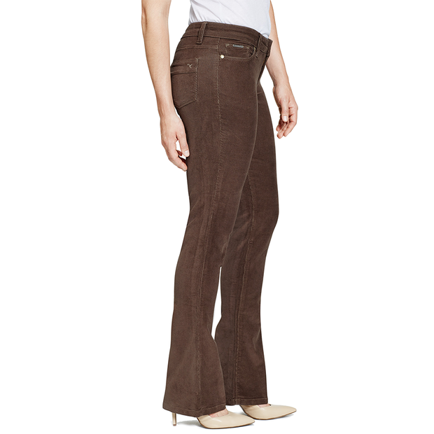 Jennifer Bootcut Brown Corduroy