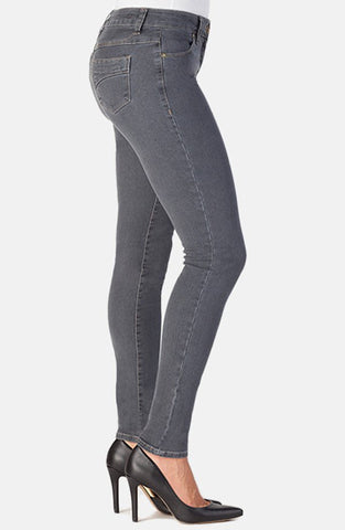 Beija-Flor Jeans Jennifer Skinny Grey with Emana®