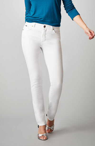 Beija-Flor Jeans Jennifer High-Rise Skinny Pure White