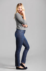 Beija-Flor Jeans Jennifer Straight Leg in Vintage Blue