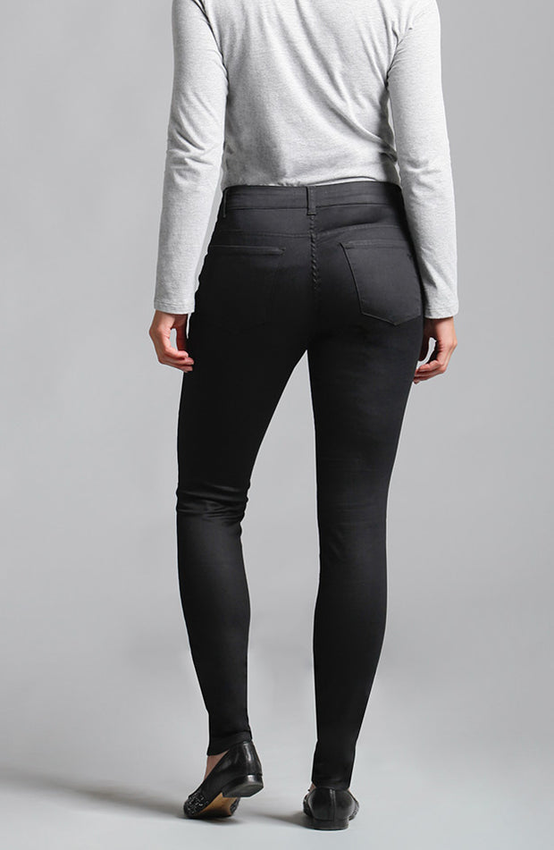 Kelly Skinny Satin Black