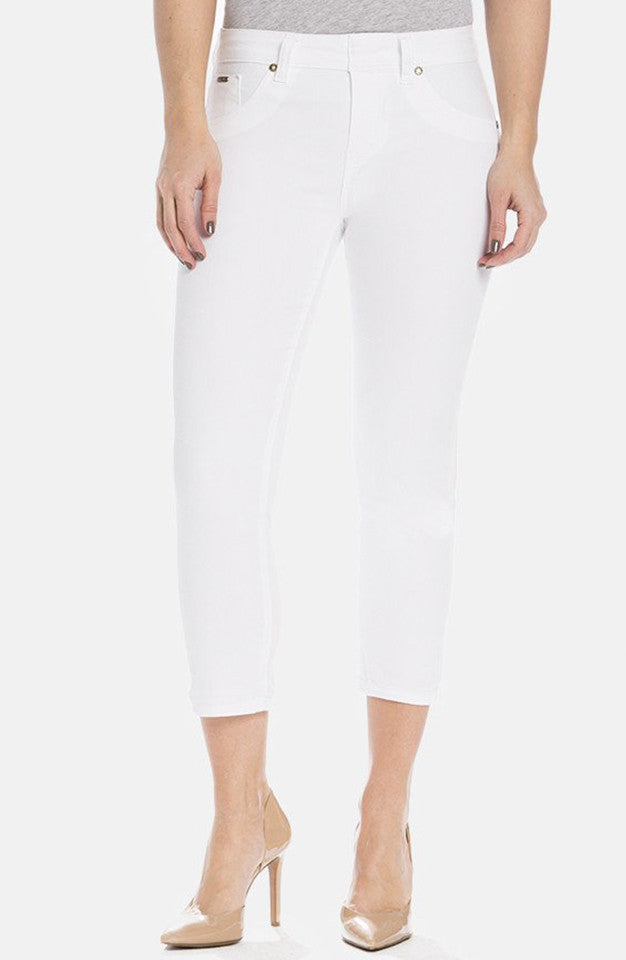 Beija-Flor Jeans Kelly Cropped Bright White