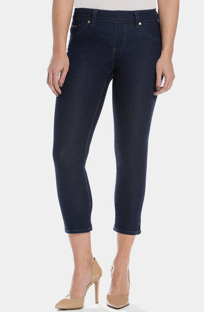 Beija-Flor Jeans Kelly Cropped Navy
