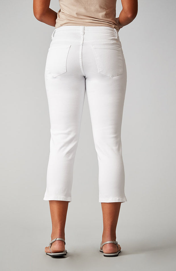 Beija-Flor Jeans Kelly Cropped Pure White