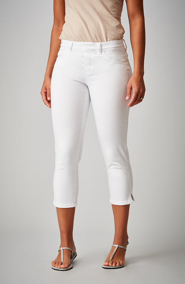 Kelly Cropped Pure White