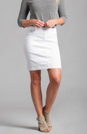 Kelly Skirt Pure White