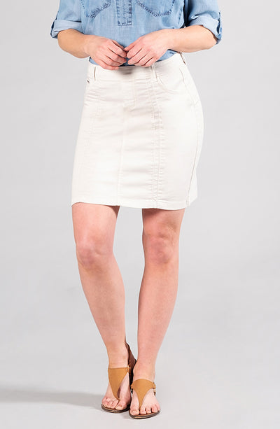 Beija-Flor Jeans Kelly Skirt Sand Dollar