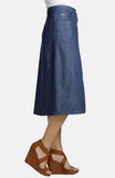 Beija-Flor Jeans Michelle Skirt London Blue