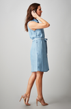 Beija-Flor Jeans Molly Sleeveless Dress Chambray