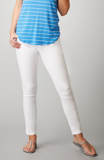 Beija-Flor Jeans Nicole Ankle Pure White
