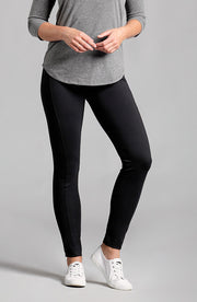 Sarah Knit Ankle Pant Black