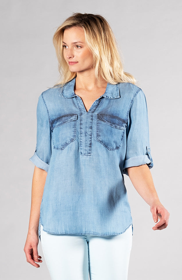 Beija-Flor Jeans Tara Tunic Sand Washed