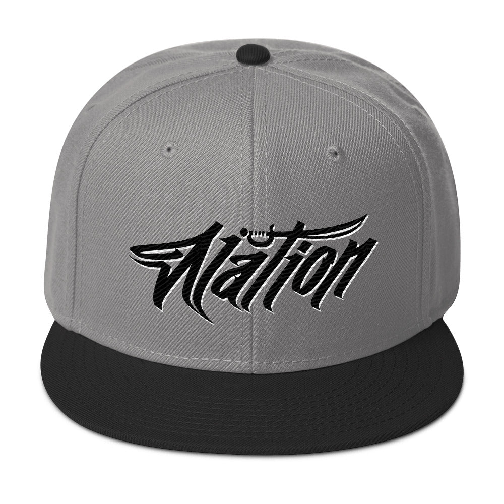 Nation Graff Snapback Hat
