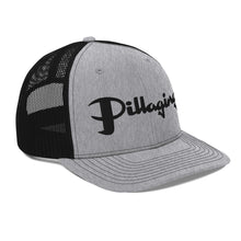 Load image into Gallery viewer, Pillaging Silver & Black Snapback Trucker Cap