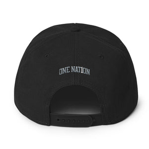 Nation Graffiti Snapback Hat