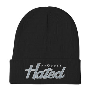 Proudly Hated - Knit Beanie 12""