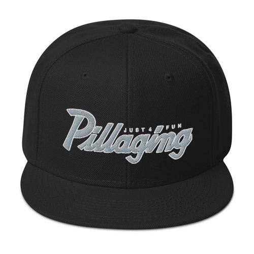 Pillaging Just For Fun Snapback Hat