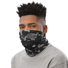 Load image into Gallery viewer, Silver & Black Digi Camo Neck Gaiter
