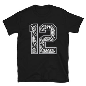 Snakeskin #Twelve T-Shirt (Proceeds Go To Charity!!!)