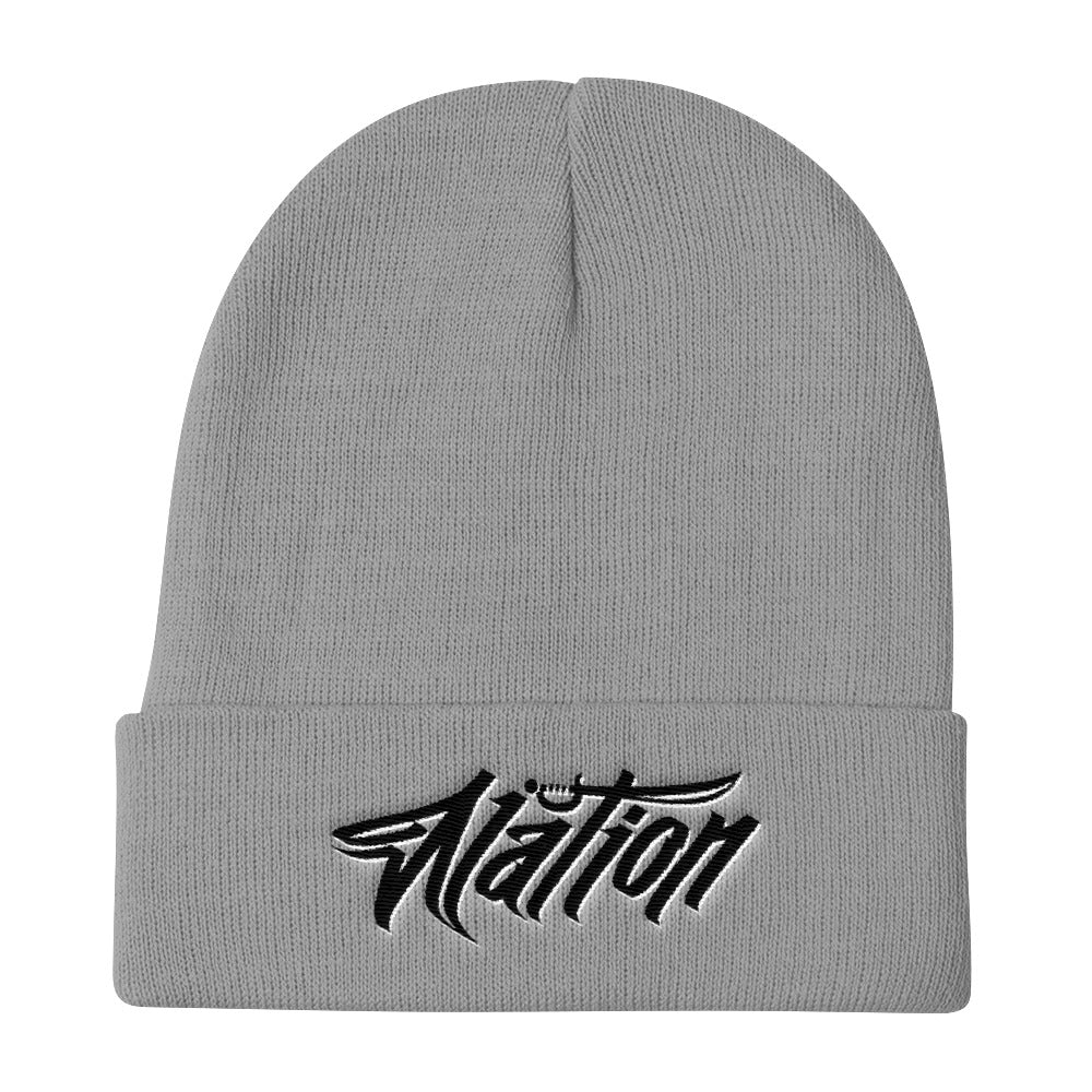 Nation Graffiti Knit Skully
