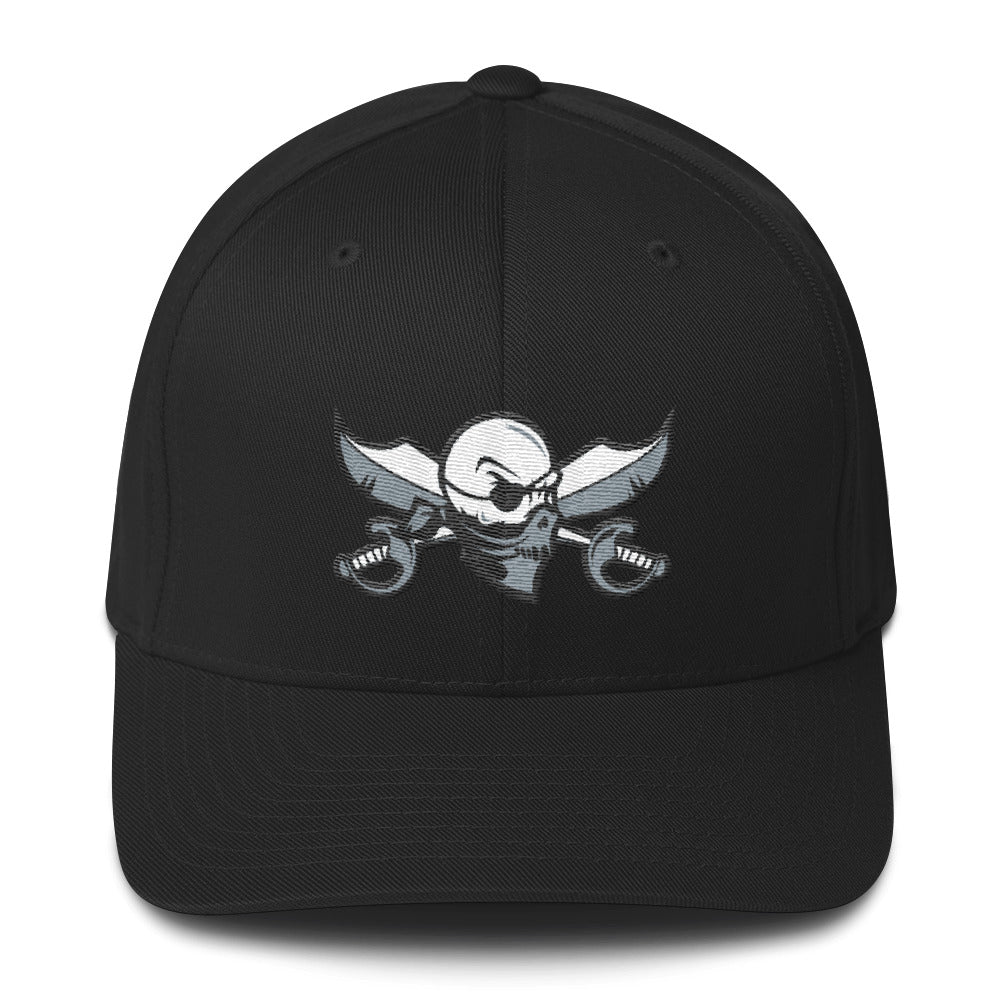 Swagger Skull Fitted Hat