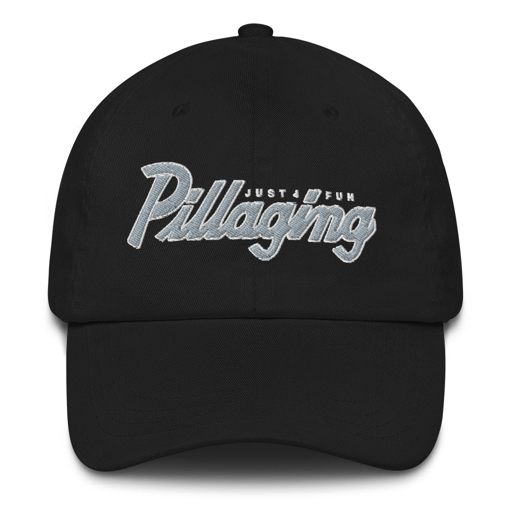 Pillaging Just For Fun Dad hat